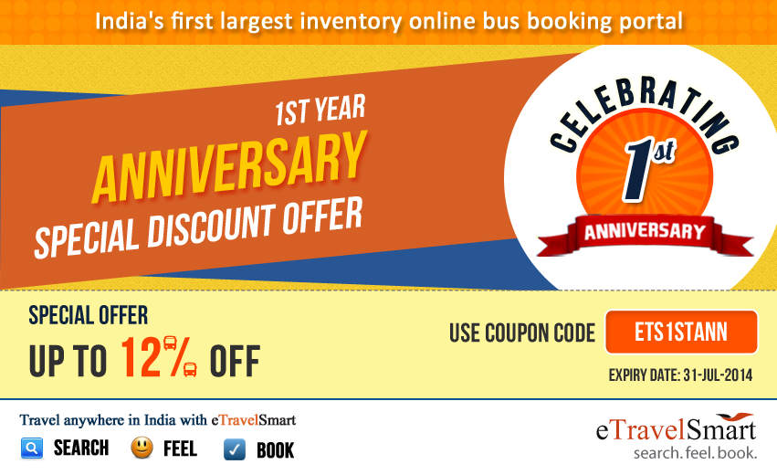 Bus discount coupons