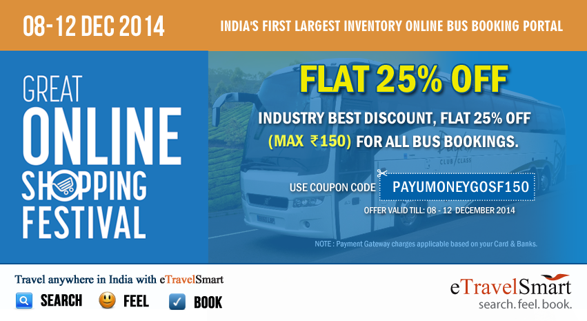 Bus booking Offers and Coupons prepmortyoq.tk has listed down all the Coupons and Deals from various portals like Yatra, RedBus, Abhibus, Run bus and many more. These promo codes and offers are provided by these websites are here to make you save a lot .